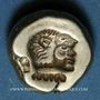 Monnaies Lesbos. Mytilène. Hecté en électrum (= 1/6 statère), 521-478 av. J-C