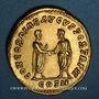 Monnaies Lucius Vérus (161-169). Auréus. Rome, 161-162