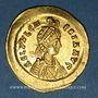 Monnaies Pulchérie, soeur de Théodose II (+ 453). Solidus. Constantinople, 441-450.