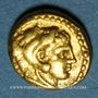 Monnaies Royaume de Macédoine. Philippe II (359-336 av. J-C). 1/8 statère. Pella