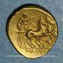 Monnaies Royaume de Macédoine. Philippe II (359-336 av. J-C). Statère. Pella, vers 340-328 av. J-C