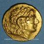 Monnaies Royaume de Thrace. Lysimaque (323-281 av. J-C). Statère posthume. Tomis, vers 89-72 av. J-C