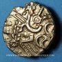 Monnaies Suessiones (région de Sens), fin du 2e - 1ère moitié du 1er siècle av. J-C. Statère à l'œil