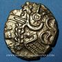 Monnaies Suessiones (région de Soissons), fin du 2e - 1ère moitié du 1er siècle av. J-C. Statère à l'œil