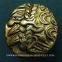Monnaies Suessiones (région de Soissons), Fin du 2e - 1ère moitié du 1er siècle av. J-C. Statère à l'ancre