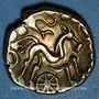Monnaies Suessiones (région de Soissons). Fin du 2e - 1ère moitié du 1er siècle av. J-C. Statère à l'ancre