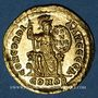Monnaies Théodose I (379-395). Solidus. Constantinople, 4e officine, 378-383