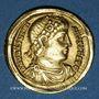 Monnaies Valentinien I (364-375). Solidus. Antioche, 2e officine, 364-367