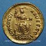 Monnaies Valentinien II (375-392). Solidus. Constantinople, 5e officine, 383-388