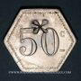 Monnaies 11e Génie. Mess. Strasbourg (67). 50 centimes