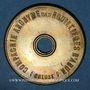 Monnaies Ahun (23). Compagnie Anonyme des Houillères d'Ahun. 1 franc payable en pain