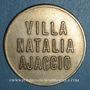 Monnaies Ajaccio. Villa Natalia. 25 centimes