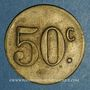 Monnaies Ajaccio. Villa Natalia(?). 50 centimes