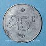 Monnaies Albi (81). Aurore Sociale - Société Coopérative de Consommation. 25 centimes