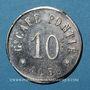 Monnaies Albi (81). Grand Café Pontié. 10 centimes