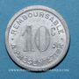 Monnaies Albi (81). Pharmacie du Docteur Ferret. 10 centimes