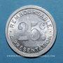 Monnaies Albi (81). Pharmacie du Docteur Ferret. 25 centimes
