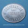 Monnaies Allevard (38). Coopérative - Forges d'Allevard. Restaurant B supplément. Aluminium