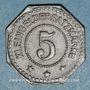 Monnaies Alsace. Sélestat (67). 5 (pfennig) 1917