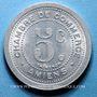 Monnaies Amiens (80). Chambre de Commerce. 5 centimes 1922