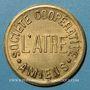 Monnaies Amiens (80). Société Coopérative de l'Atre. 5 centimes