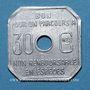 Monnaies Amiens (80). Société des Tramways d'Amiens. 30 centimes 1922-23