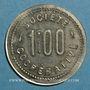 Monnaies Amplepuis (69). La Fraternité - Société Coopérative. 1 franc