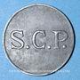 Monnaies Angoulême (16). S. C. P. (Société Coopérative de la Poudrerie). 5 centimes