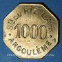 Monnaies Angoulême (16). Société du Riz Lacroix (La +). 1000