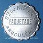 Monnaies Angoulême (16). Société du Riz Lacroix (La +) - Paquetage. sans valeur, aluminium