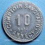 Monnaies Annecy (74). Comptoir Savoyard. 10 centimes