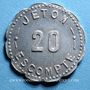 Monnaies Annecy (74). Comptoir Savoyard. 20 centimes