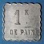 Monnaies Annemasse (74). Société Coopérative des Agents de la Compagnie P.L.M. 1 kilo pain