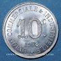 Monnaies Annonay (07). Union Commerciale et Industrielle. 10 centimes 1918