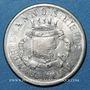 Monnaies Annonay (07). Union Commerciale et Industrielle. 10 cmes 1918, maillechort, monnaie fautée