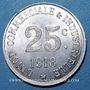 Monnaies Annonay (07). Union Commerciale et Industrielle. 25 centimes 1918