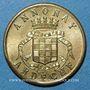 Monnaies Annonay (07). Union Commerciale et Industrielle. 5 centimes 1918. Laiton