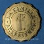 Monnaies Arles (13). La Famille Arlésienne. 1 franc