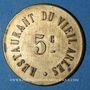 Monnaies Arles (13). Restaurant du Vieil Arles. 5 centimes