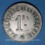Monnaies Arleux (59). Sté Ame des Verreries d'Arleux. 1 franc