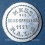 Monnaies Artillerie. 112e RALD. Mess des Sous-Officiers. Angoulême. 5 centimes