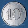 Monnaies Arvant (43). Marcel Bros. 10 centimes