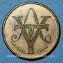Monnaies Aubenas (07). Société Ardéchoise des Tramways Electriques. 5 centimes