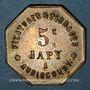 Monnaies Audincourt (25). Filatures et Tissages Japy. 5 centimes