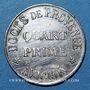 Monnaies Avignon (84). Docks de Provence. 1/4 prime