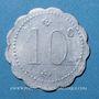 Monnaies Avignon (84). Droguerie Laugier. 10 centimes