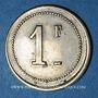 Monnaies Bagès (66). Coopérative. 1 franc