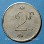 Monnaies Bagès (66). Coopérative. 2 francs