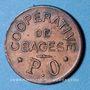 Monnaies Bagès (66). Coopérative. 25 centimes
