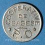 Monnaies Bagès (66). Coopérative. 50 centimes